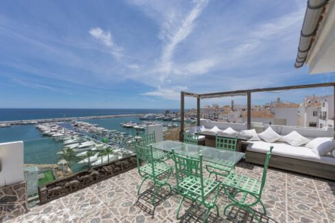 Penzhouse Ocean Frontline Puerto Banus Marbella for sale with Guetig Group
