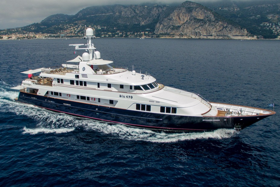 Yacht for sale with Guetig Group