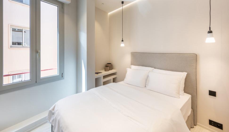 Four Room Apartment Carré d'Or Monaco Bedroom 1 Guetig Group