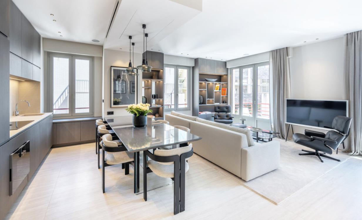 Four Room Apartment Carré d'Or – Monaco