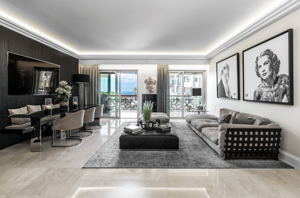 Luxury Apartment in Monaco Fontvieille with sea view