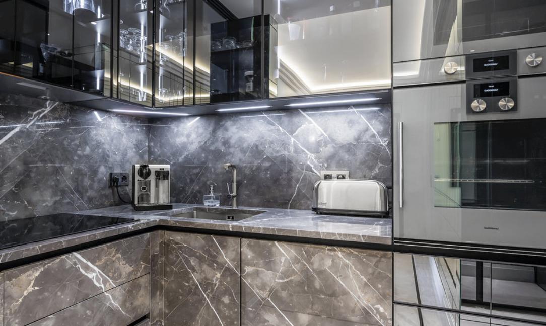Luxury Apartment Monaco Fontvieille Kitchen 2 Guetig Group