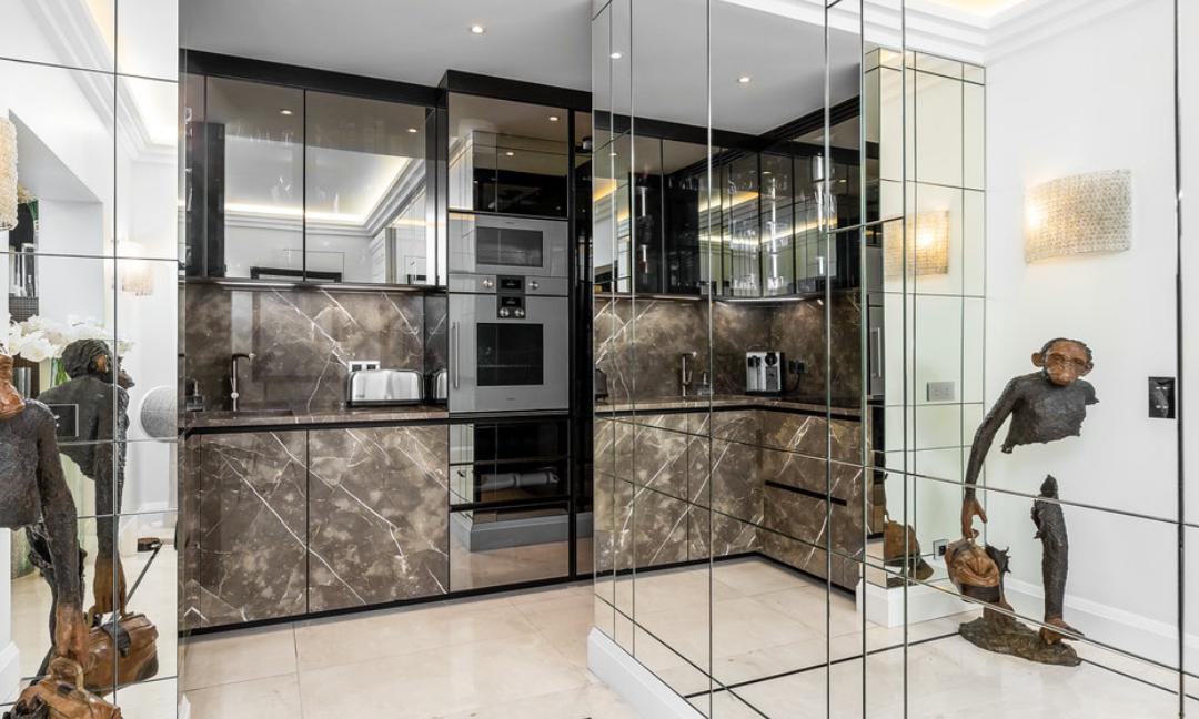 Luxury Apartment Monaco Fontvieille Kitchen Guetig Group