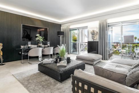 Luxury Apartment Monaco Fontvieille Living Room 1 Guetig Group