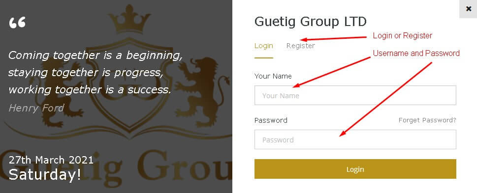 Advertise your real estate for free Step 2 Guetig Group