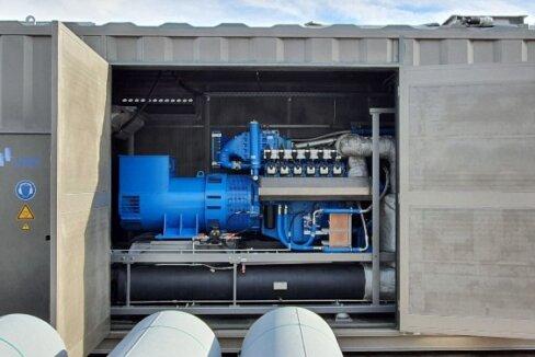 Investment in Blockheizkraftwerk