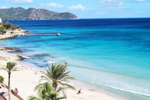 Wohnung erste Meereslinie Cala Milor Mallorca