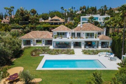 Villa Nueva Andalusia mit Meerblick